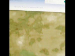 1000D nylon oxford voděodolná kamufláž PU potažená tkanina