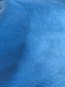 35GSM, 45GSM SMS netkaná textilie Ochranný oděv a izolační oblek