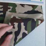 Camouflage vzor 80/20 bavlna polyesterová twill tkanina pro vojenskou uniformu