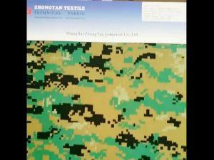 Digitální lesní kamufláž tiskla 1000d nylonová podobná kordura vodotěsná oxfordová tkanina