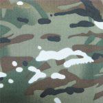 teflon 100% polyester tkaný nepromokavý venkovní vojenský kamufláž plášť tkaniny