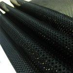 textilní podšívka s látkovým pytlíkem pletená síťovina pro sportovní oblečení