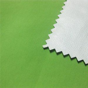 228T nylon taslon pu tkanina / voděodolná pro dýchací plášť