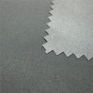 100% polyester pongee potažený nepromokavou venkovní bavlněnou tkaninou