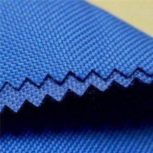vysoce kvalitní voděodolnost 600d oxford pu pvc potažená stanová tkanina