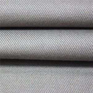 350gsm bavlněný samozhášivý saténový materiál pracovní oděv EN11612 FR textilie pro obuv