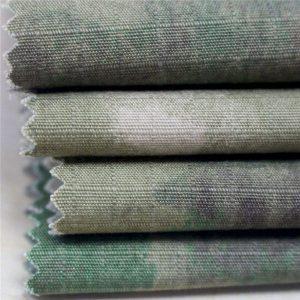 Antistatický vojenský tisk Ripstop bavlněná tkanina pro armádu