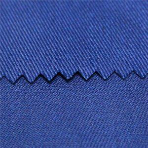 tc polyesterová bavlna hladká a keřová aktivní barvená a digitální potlačení plamene pracovní oblečení tkanina poplin stejnoměrná tkanina