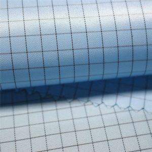 5mm proužkový polyesterový antistatická tkanina pro antistatická oděvy