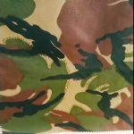kamufláž tištěný nepromokavý ripstop nylon oxford uniformní vojenská tkanina