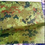 Čína výrobce velkoobchodní kamufláž embosované rainwear geotextile tkaniny pro venkovní tkaniny
