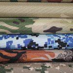 vojenské tkaniny