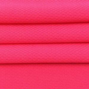 rychlé suché polyesterové oční síťoviny pro sportovní tričko